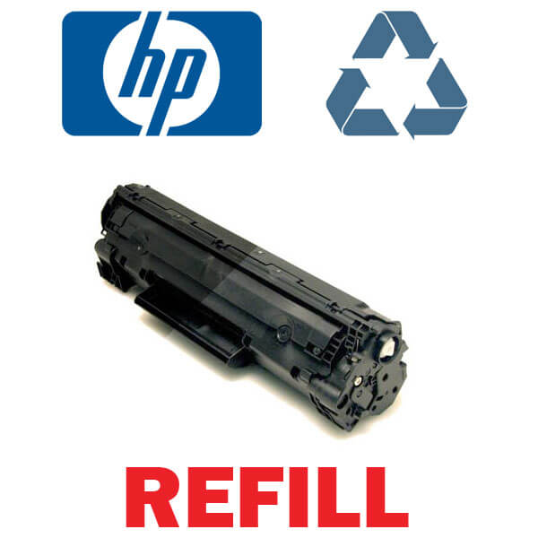 Reincarcare cartus toner imprimanta model Hp CF 382 YELLOW